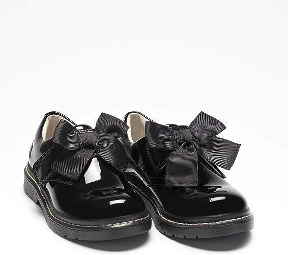 Irene SNR Black Patent School Shoes F