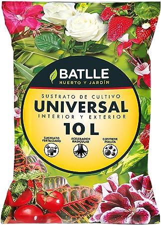 Amazon.com: Batlle 960002unid - Sustrato universal 10L ...