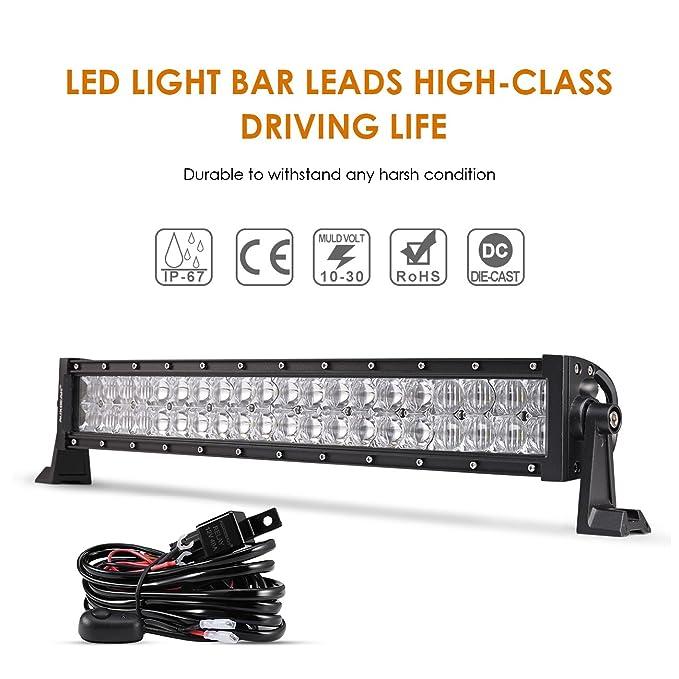 Amazon.com: Auxbeam LED Light Bar 22