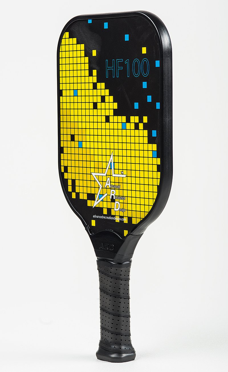 Amazon.com : Advanced Recreation Design ARD Fiberglass Pickleball Paddle - HF100 (Yellow) : Sports & Outdoors