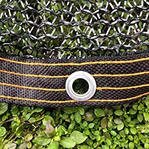 Shade Cloth 38% Shade Fabric Sunblock with Grommets, Garden Yard Backyard Plant Cover Shade Net UV Resistant Mesh Netting (Size : 2X3m)