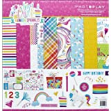 Photoplay Paper Photo Play Cake Rainbow Spr Collection Pack 12 x 12 RS