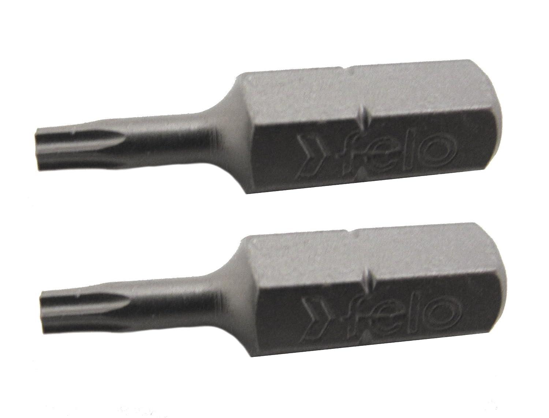 Felo 0715710295 Torx T27 Industrial Bits 2 Pack Length: 1 on Card