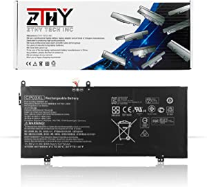 ZTHY CP03XL Battery Replacement for HP Spectre X360 13 13-ae000 13-ae006no 13-ae001ng 13-ae049ng 13-ae013dx 13t-ae000 13t-ae012dx Series HSTNN-LB8E 929066-421 929072-855 TPN-Q199 11.55V 60.9Wh 5275mAh