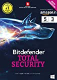 BitDefender Total Security Latest Version (Windows) - 5 User, 3 Years (Activation Key Card)