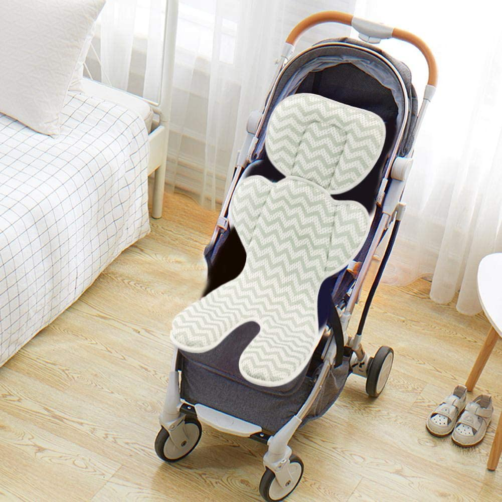 Hydro Gel Car Seat Cooler Mat for Baby No Refrigeration Needed Car Seat and Stroller Cooling Pad Cushion Liner with Breathable 3D Mesh Anti-Slip Back 4072cm for Kids Toddlers 0-1 Yr 12-48 Months