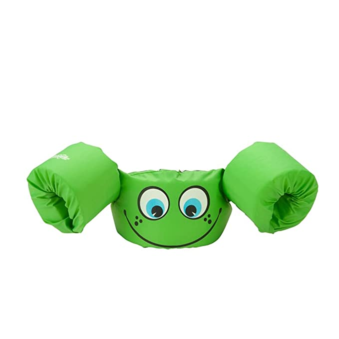 Stearns Puddle Jumper Basic Child Life Jacket, Green Smile best children's life vest