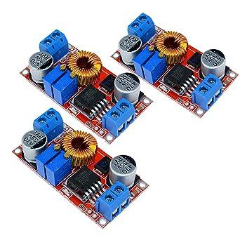 3pcs XL4015 5A DC a DC CC CV batteria al litio Step Down scheda di ricarica LED convertitore caricatore Step Down Module