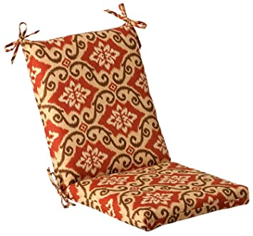 Outdoor Patio Furniture Mid Back Chair Cushion   Vintage Tuscan