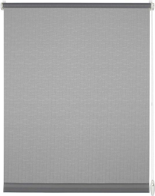 Kit de montage inclus Store du jour LxH 45 x 150 cm Blanc Clip unique Deco Company Store enrouleur /à clipser ou /à coller Opaque