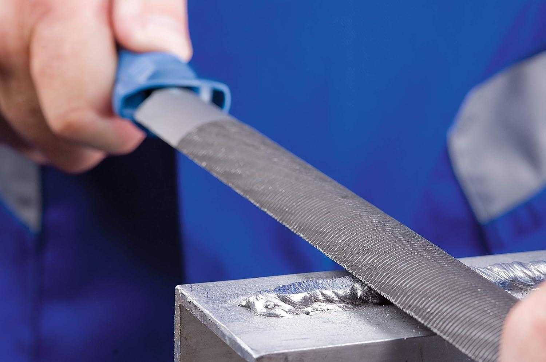 Pferd 11213156 Cut 1 Type Half-Round File 150 mm//11213156 Silver//Blue