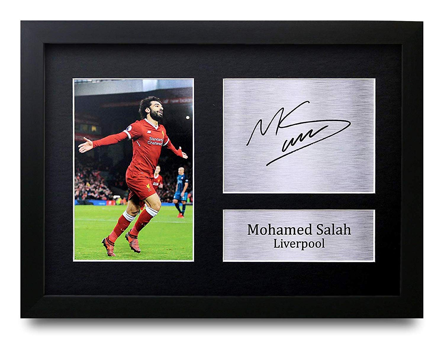 Kitbags /& Lockers Virgil Van Dijk 12x8 A4 Signed Liverpool Autographed Photo Photograph Picture Frame Soccer Gift