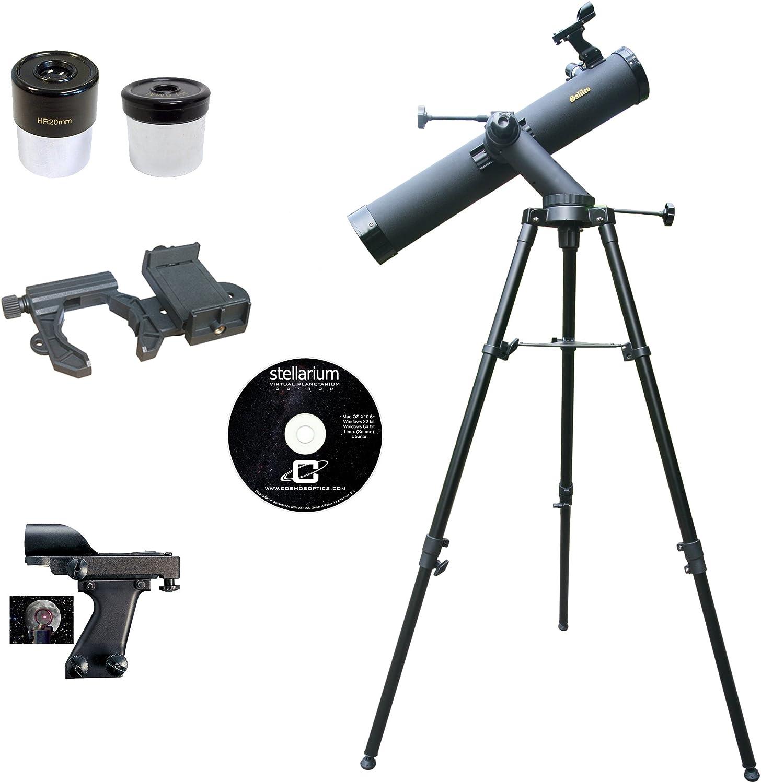 Galileo 800 mm x 90 mm Smartphone Foto Adaptador telescopio ...