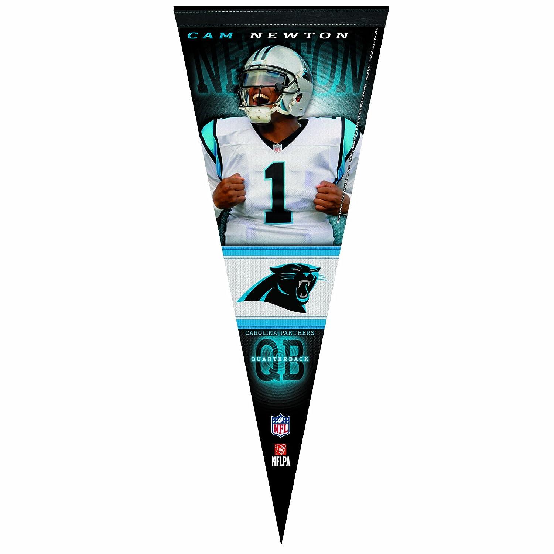 NFL Carolina Panthersカムニュートン12 by 30-inch Premium Qualityペナント   B009M1AFD0, バンブルー Vent Bleu 9abfa468