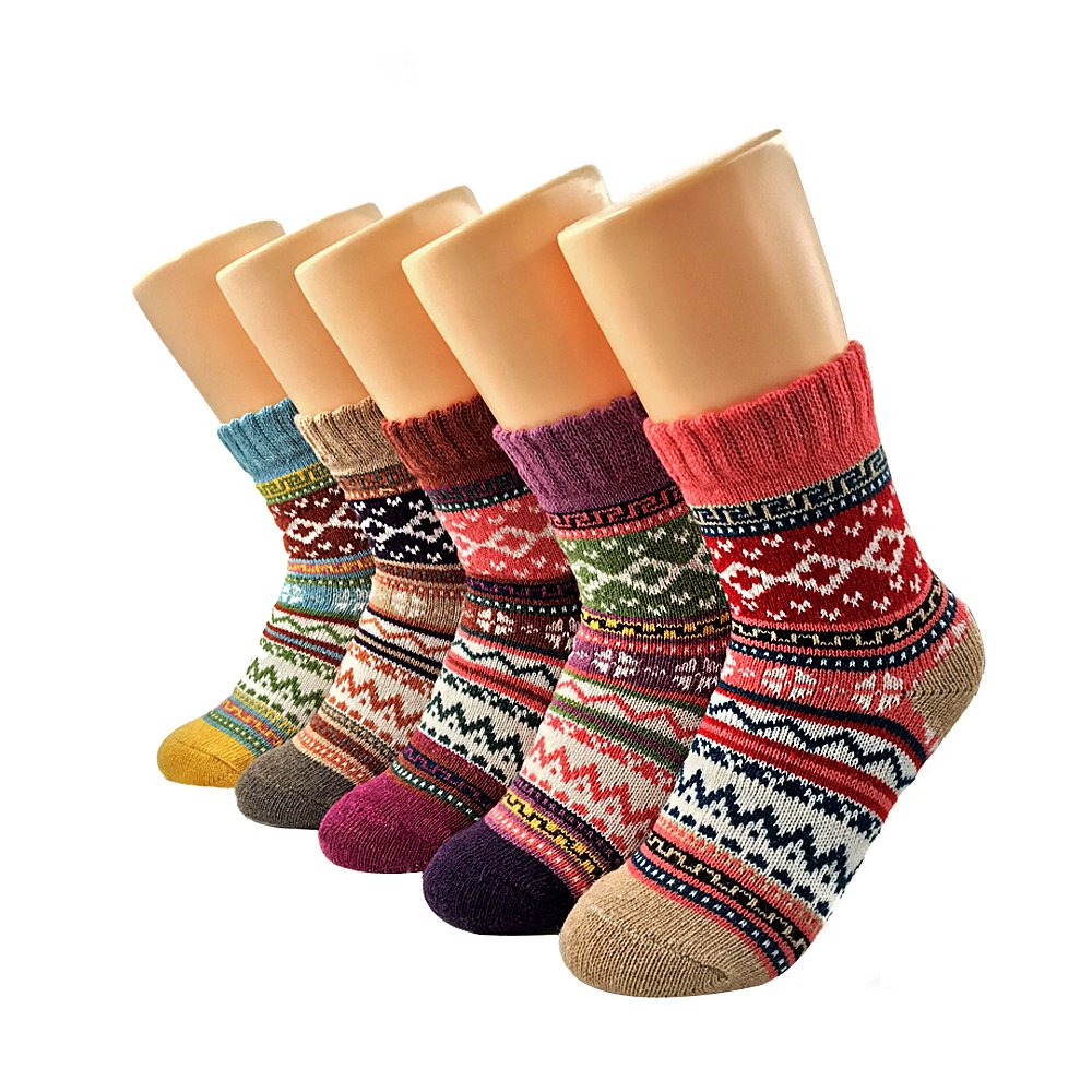 Women's 5 pack Thick cotton socks