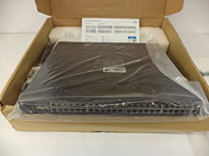 Dell Networking X1052P - Switch - 48 Ports - Managed - Rack-Mountable, Black (463-5912)