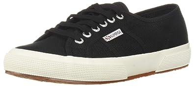 Superga Women s 2750 Cotu Classic Sneaker Black White 37 M EU (6.5 ... d0cbdd8bfb