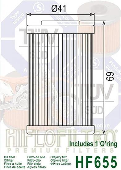 Filtro olio HiFlo Filtro/ /HF655