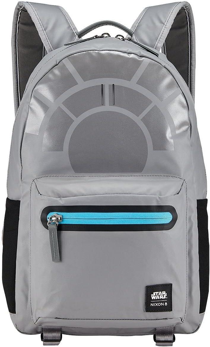 Nixon Unisex The C-3 Backpack X Star Wars Collab Millennium Falcon Gunmetal Backpack
