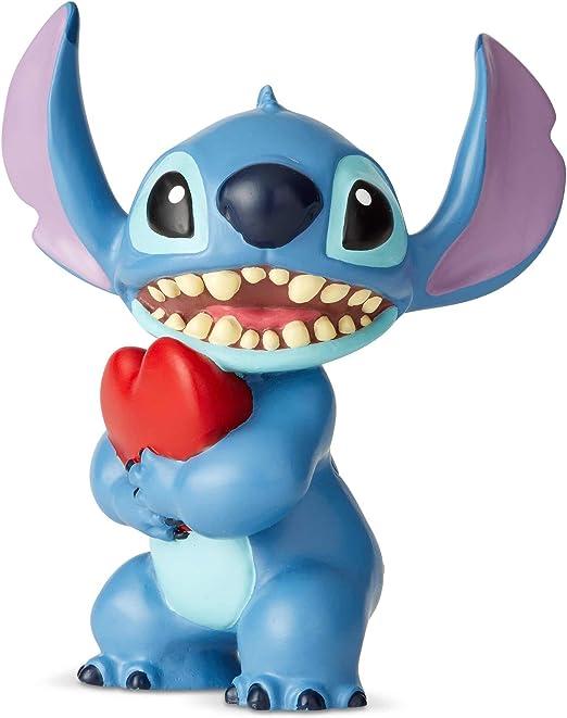 """Enesco Disney Showcase Lilo and Stitch Guitar Mini Figurine 2.5/"""" Multicolor"""