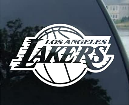 Los angeles lakers nba basketball sports team sports team auto car truck white 8x8quot
