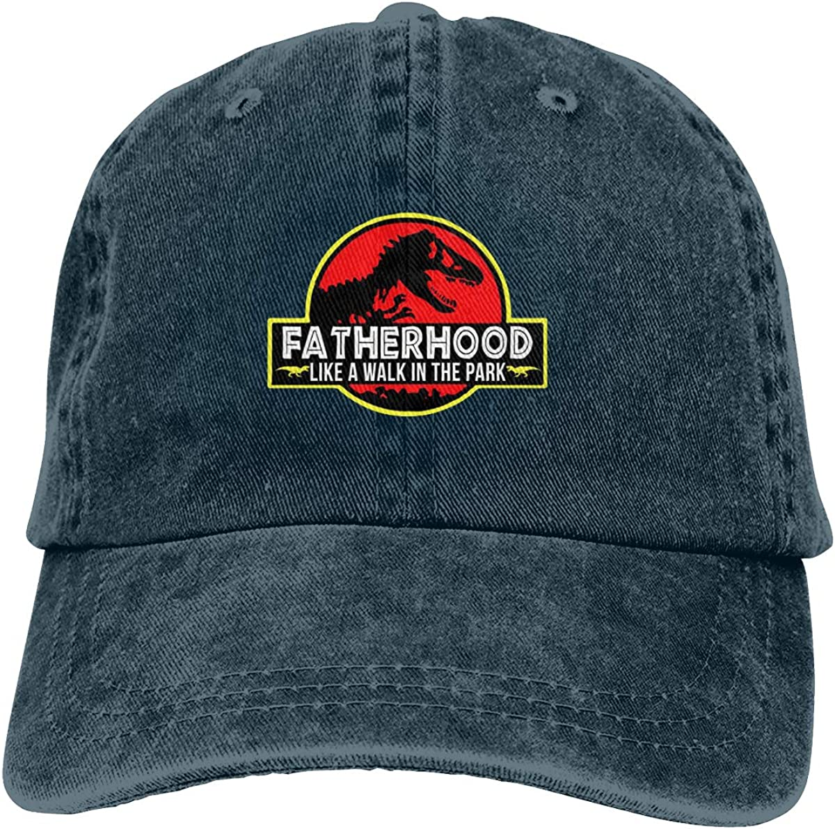 Fatherhood Like A Walk in The Park Sports Cap for Mens and Womens