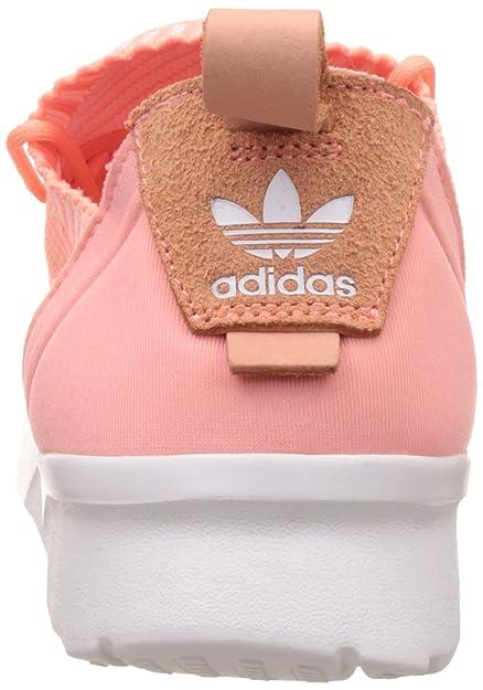 adidas ZX Flux BB2308 Color: White Orange Size: 8.5