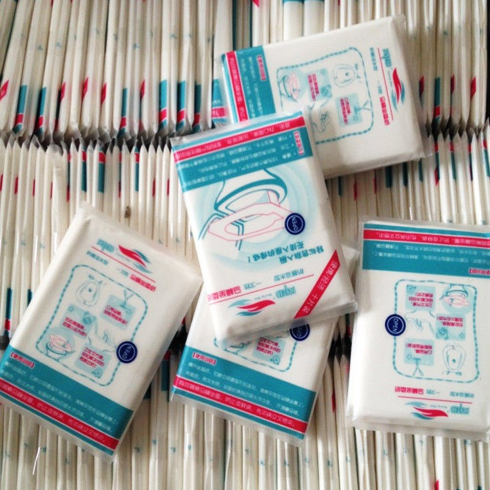 tappetino igienico gettabile nel water viaggio 5 confezioni donne incinta mamme per bambini FAVOLOOK 50 copriwater campeggio