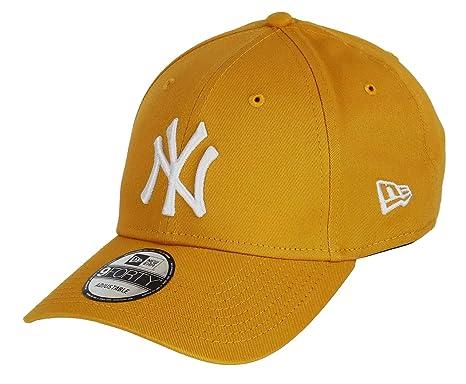 b66c66a8d291c Unbekannt New Era 9forty Strapback Gorra MLB New York Yankees NY Bsq White