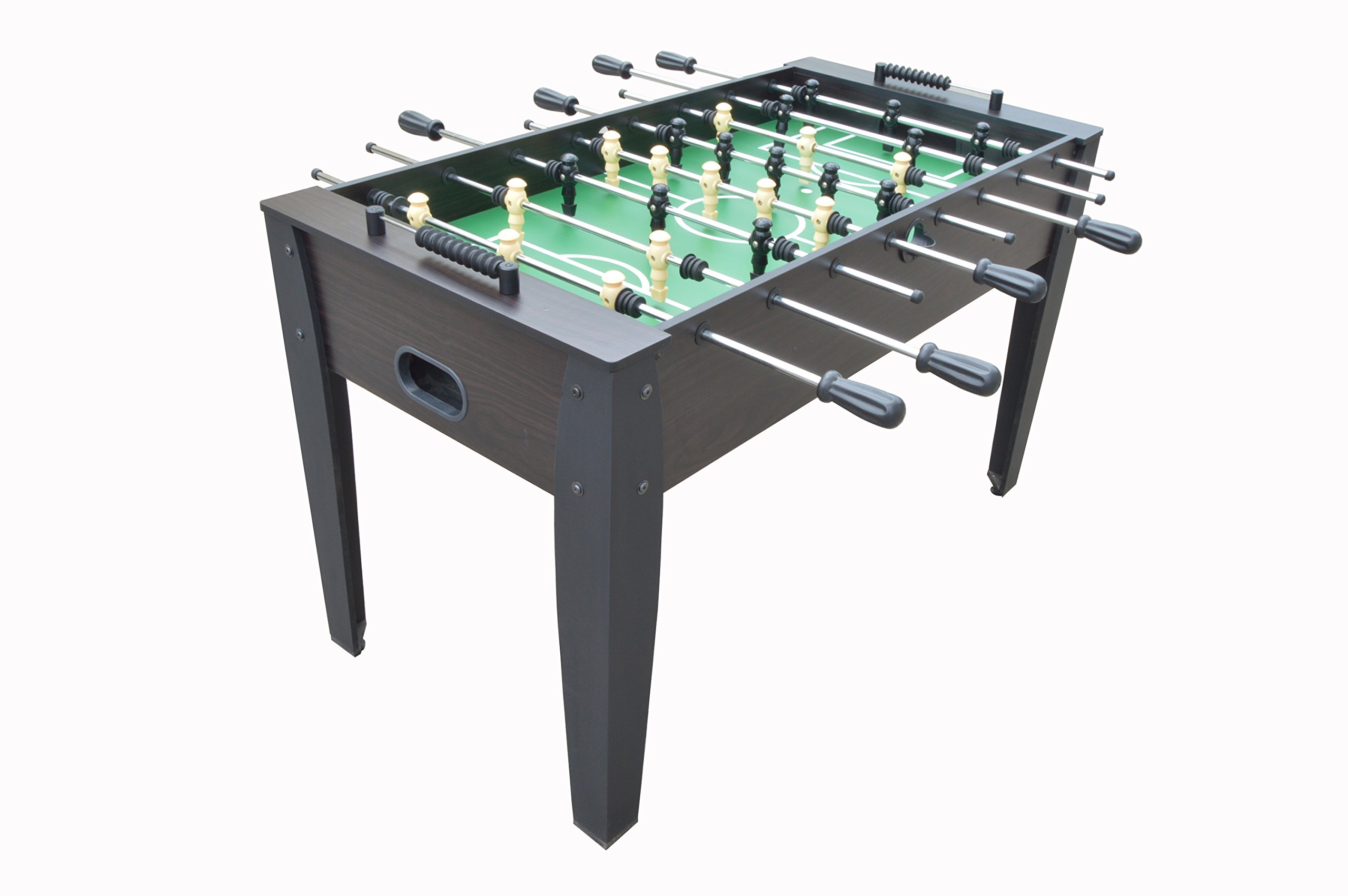 Hurricane 54'' Foosball Soccer Table - Dark Wood by FamilyPoolFun