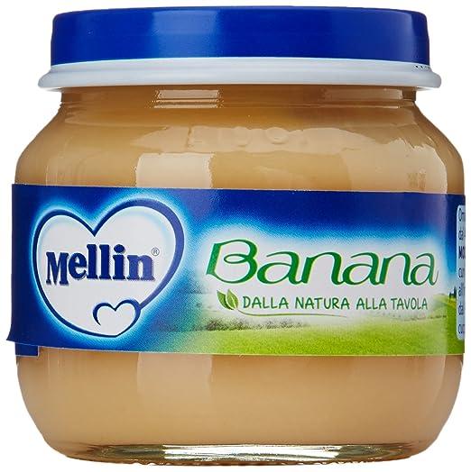 5 opinioni per Mellin- Omogeneizzato Banana Gr.100 (2 Pezzi)