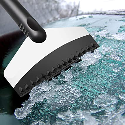 New Fashion Premium Ice Scrape Heavy Duty Frost And Snow Removal For Car Windshield And Window Tool Cleaning Tools Snow Shovel#sw Spade & Shovel