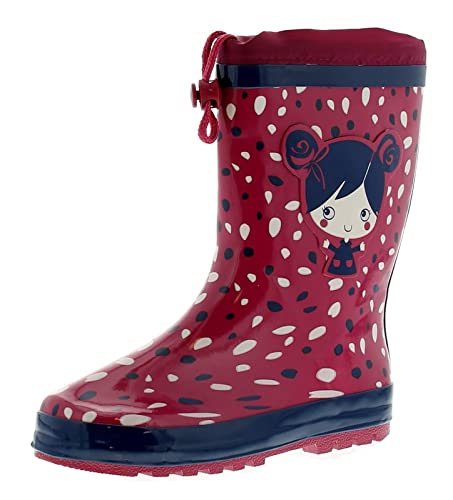 673e905ba9c1 Wynsors Polly Girls Kids Wellies Wellington Boots Pink - Pink - UK Size 2.5