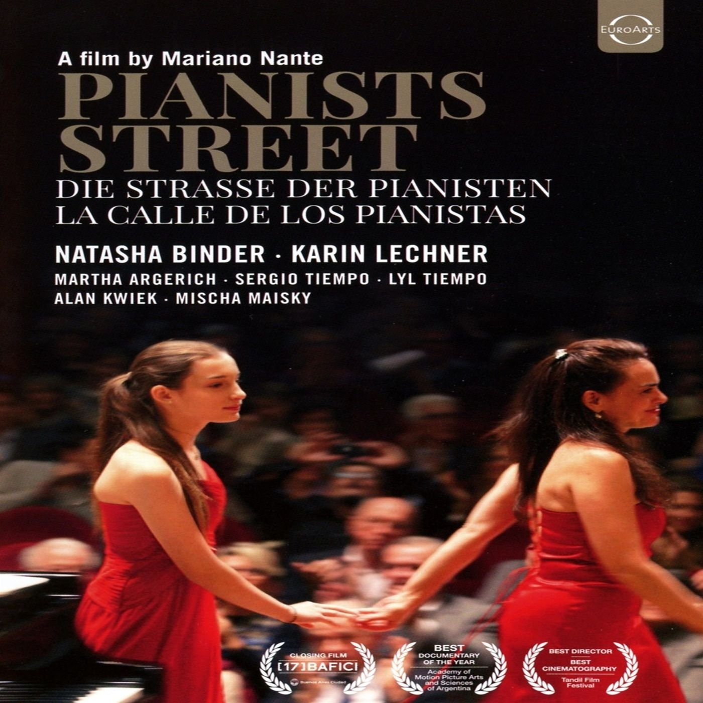 DVD : Tiempo Lechner Binder Argerich - Pianists Street-la Calle De Los Pianistas (DVD)