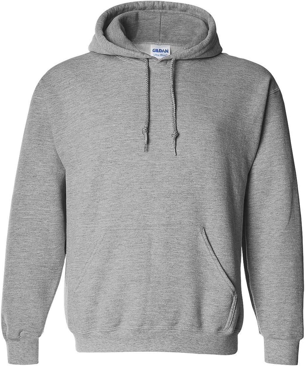 Sport Grey Gildan Ultra Blend Pullover Hooded Sweatshirt 3XL