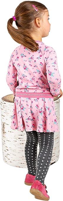 Sigikid Kleid Mini Kleid Langarm rosa bedruckt Gr 98 Icing