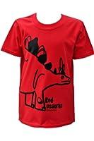 Kids red Stegosaurus Dinosaur T.shirt