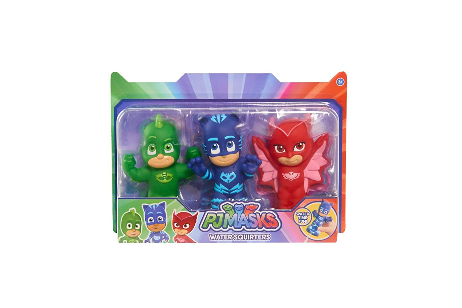 Just Play PJ Masks Squirters Bath Toy (3 Pack): Amazon.in: Baby