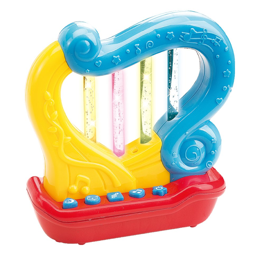 First Harp. Battery Operated Music - Learning and Entertainment for Your Toddler