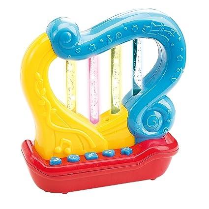 Arpa Musical Juguete Unisex Juguetes Educativos Con Canciones Infantiles El Instrumento Musical Bebés De 18 Meses - 24 Meses En Adelante