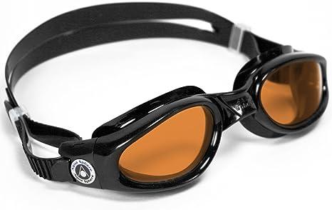 Aqua Sphere Kaiman Swim Goggles With Amber Lenses 2019