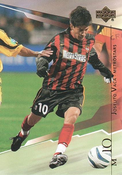 online store e3c0c d9575 2004 Upper Deck MLS Soccer #64 Joselito Vaca New York New ...
