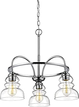 Millennium 7343-CH 3-Light Brighton Chandelier (Chrome)