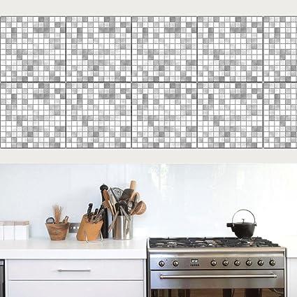 LLL TS022 Adesivi delle mattonelle Mosaico Migliorie di casa Cucina ...