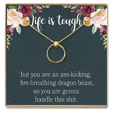 amazon com dear ava sympathy gift necklace illness cancer chemo