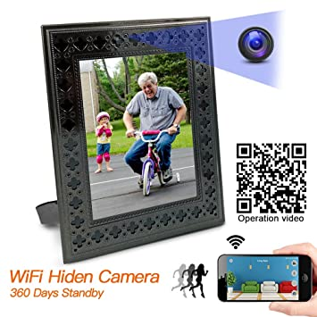 Panoraxy Wifi Hidden Spy Camera Picture Frame Nanny Amazon