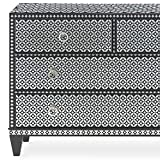 Maya Bone Inlay Stencil - DIY Bone Inlay Designs for Furniture Makeover