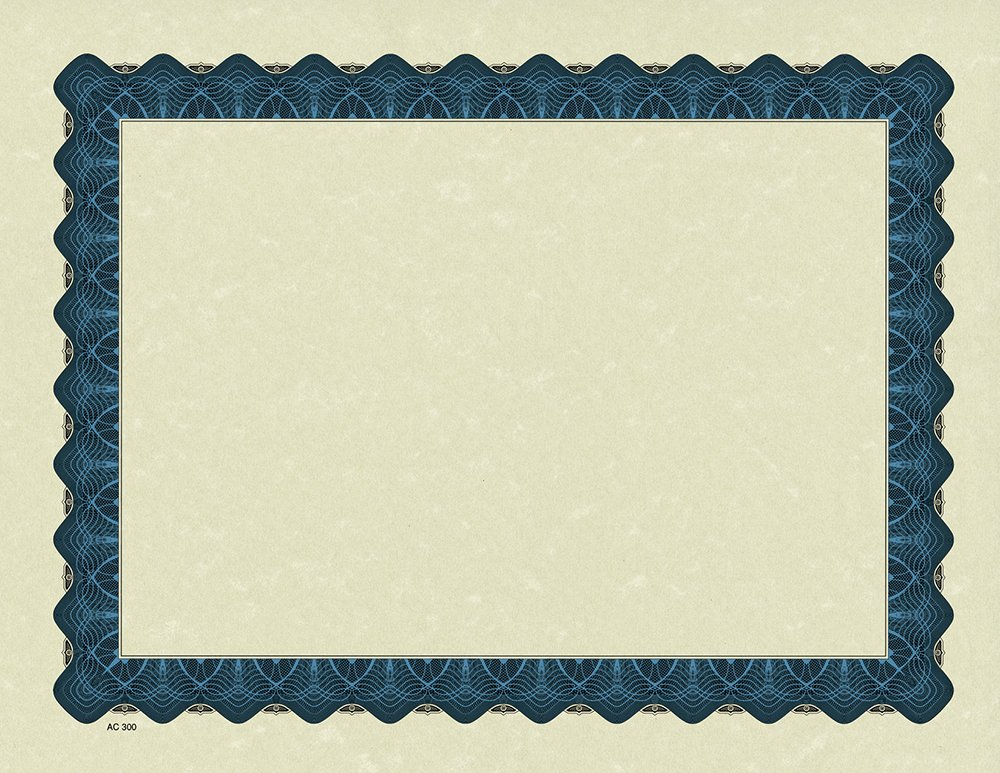 Great Papers! Metallic Border Certificate, 8.5'' x 11'', 400 count (934400PK4) by Great Papers!