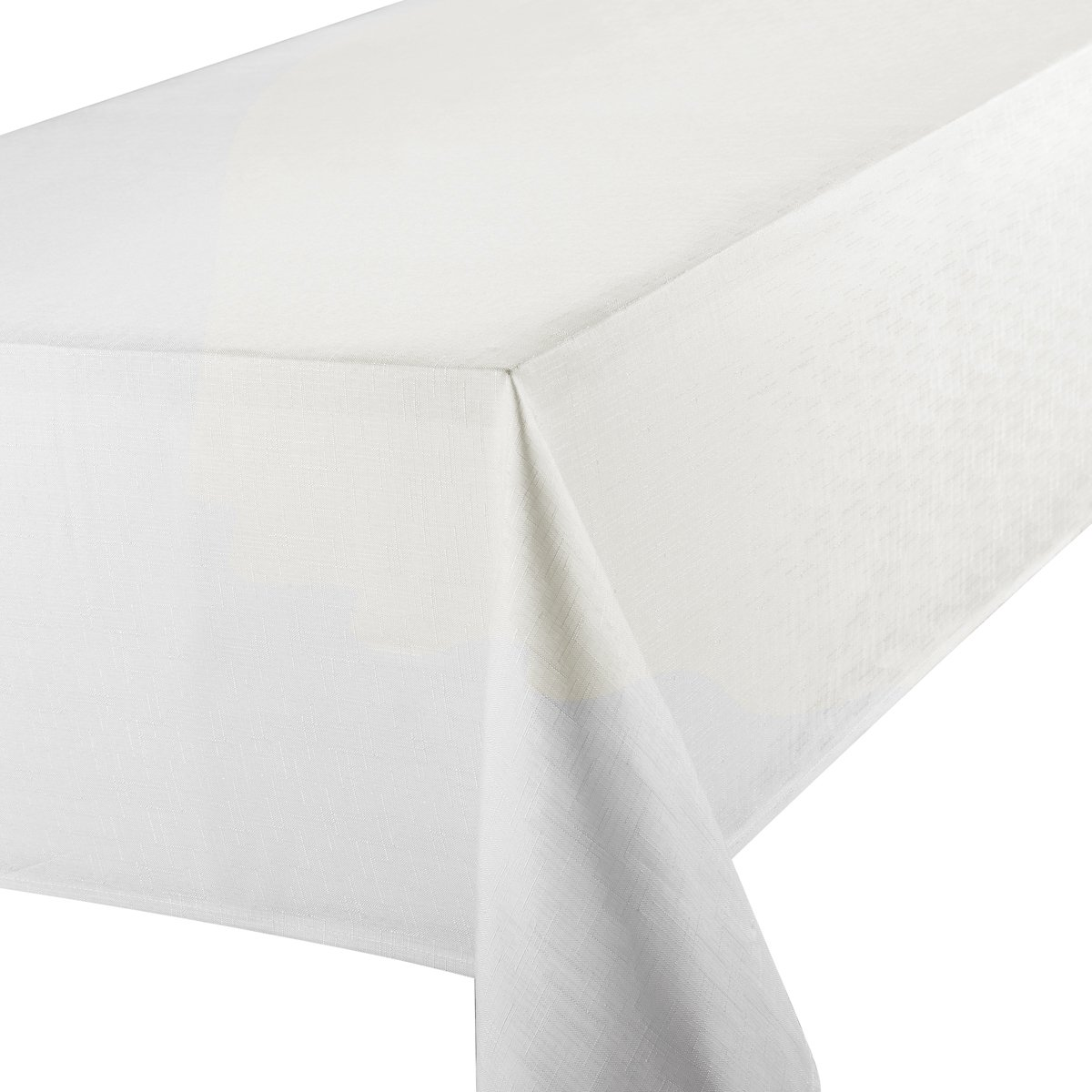 Premier 52 X 90 Inch Linen Look Oblong Tablecloth, White: Amazon.co.uk:  Kitchen U0026 Home
