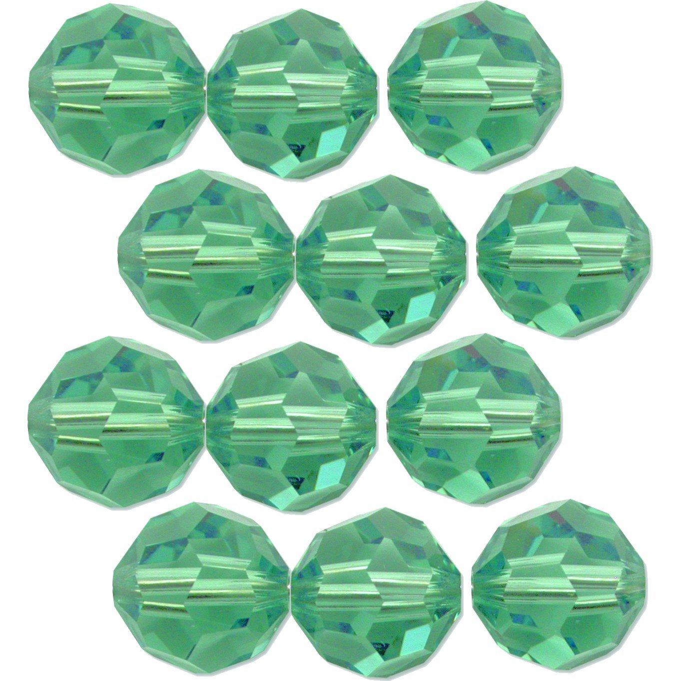 5000 Swarovski® Crystal Beads Round Erinite